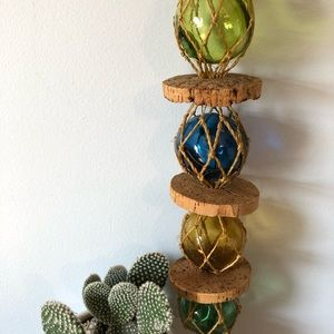 VTG Nautical Colored Orb Hanging